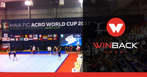 WINBACK IN THE WORLD OF ACROBATIC GYMNASTIC IN THE MAIA INTERNATIONAL ACRO CUP